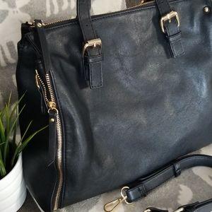 Urban Expressions - black, luxury vegan handbag
